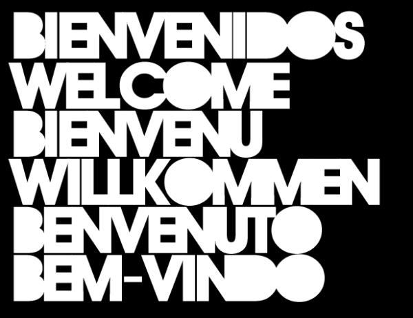 bienvenidos welcome