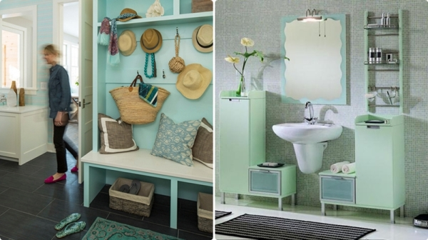 mint green decoracion