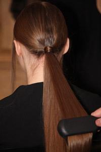pelo cola caballo baja