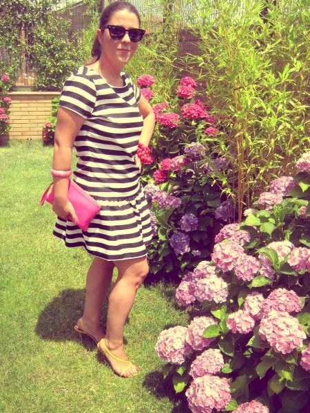 vestido rayas II