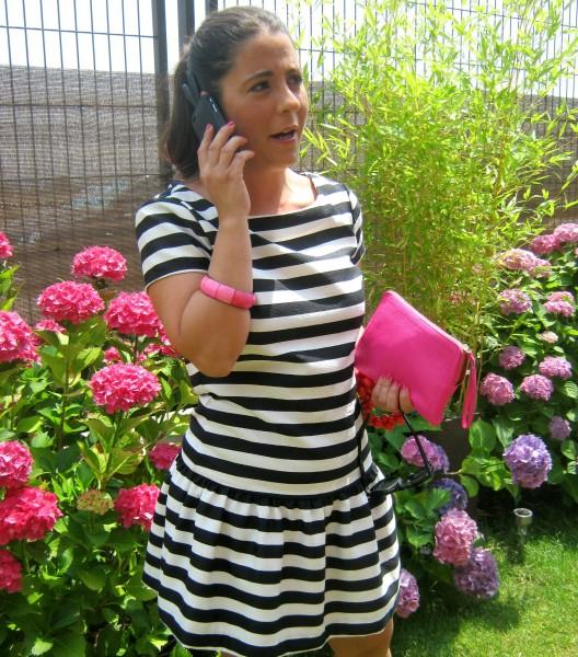 vestido rayas VII