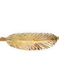 cinturon pluma dorada
