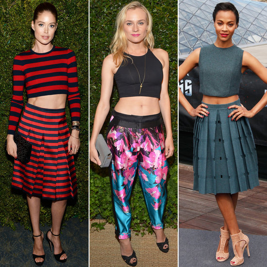 crop top celebrities