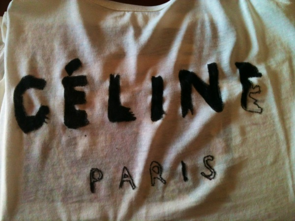 diy camiseta celine II