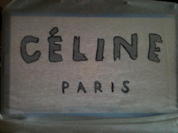 diy camiseta celine III
