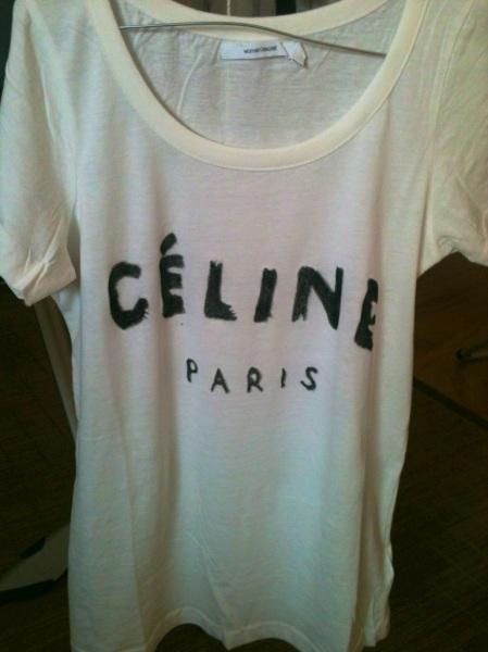 diy camiseta celine V