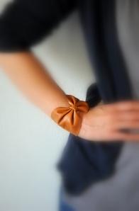 diy pulsera de cuero