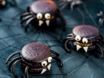 HALLOWEEN macaron araña