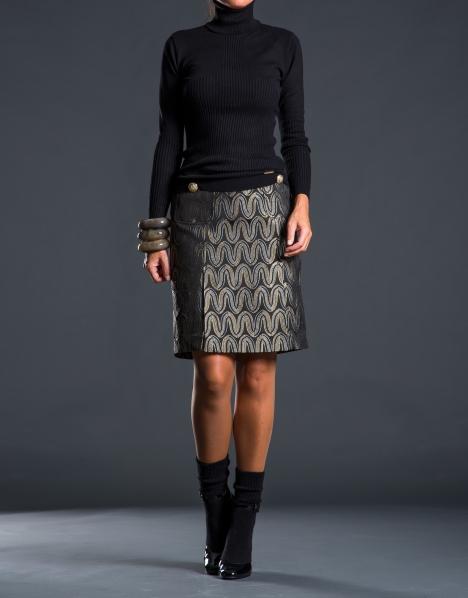 Roberto-Verino-Otoño-Invierno-2013 falda jacquard II