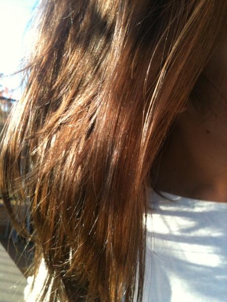 Fructis Garnier y  mi pelo