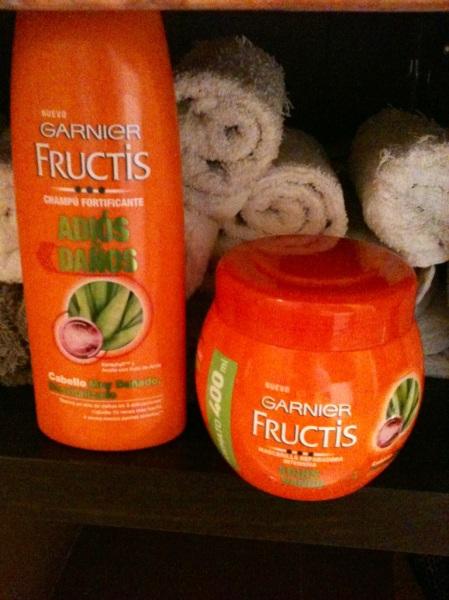 Mi Tratamiento  Adios Daños Fructis Garnier