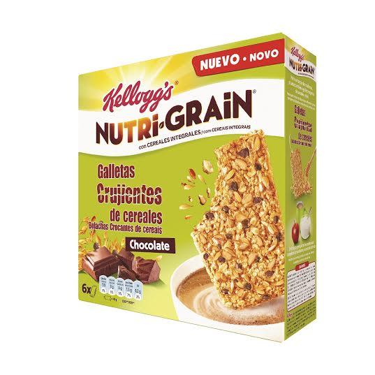nutri grain galletas crujientes
