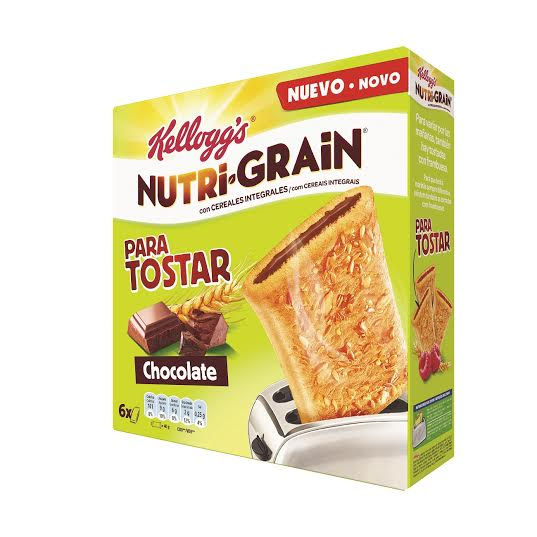 nutri grain para tostar