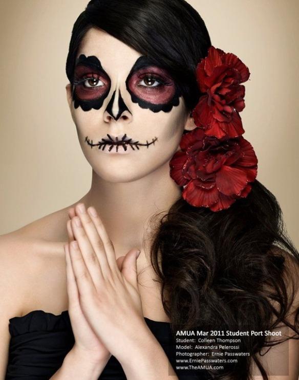 Maquillaje-Catrina-Dia-de-los-muertos